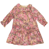 Patachou floral baby dress front view.