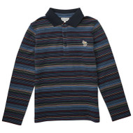 Paul Smith Junior classic striped polo.