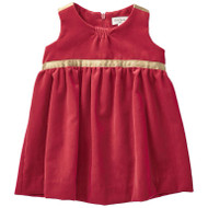 Paul Smith red velvet dress.