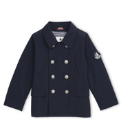 Petit Bateau Jacket with Hidden Hood.