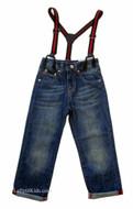 Petit Patapon Jeans & Suspenders