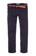 Scotch Shrunk Jersey Navy Pants & Belt