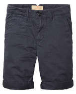 Scotch Shrunk Navy Chino Short