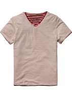 Scotch Shrunk Layered Tee 51502-c