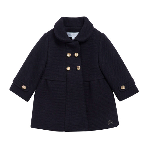 Tartine navy coat pictured on front.