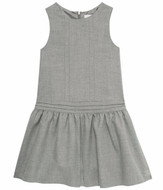 Tartine et Chocolat grey jumper dress for girls.