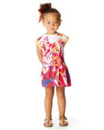 Catimini girls floral dress.