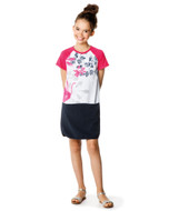 Catimini girls jersey dress