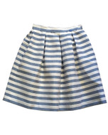 Val Max striped skirt.