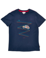 Paul Smith Junior navy tee.