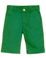 Billybandit green twill shorts.