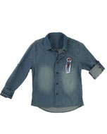 Billieblush denim shirt.