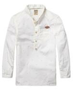 Scotch Shrunk white shirt.