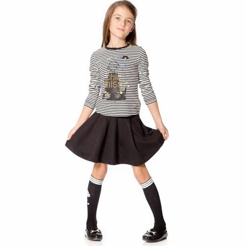 Deux Par Deux Girls Skirt
