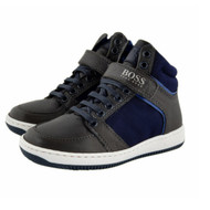 BOSS Leather Sneakers J29123A