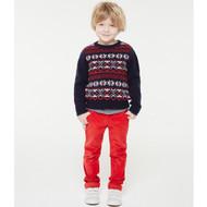 Petit Bateau Red Pants 21030