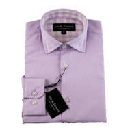 Leo & Zachary Purple Shirt
