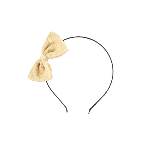 MOLO Gold Shimmer Hairband