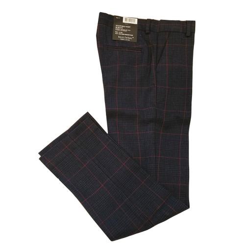 Leo & Zachary Plaid Dress Pants