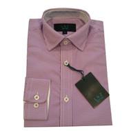 Leo & Zachary Grape Check Shirt