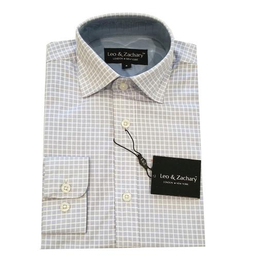 Leo & Zachary Grey Shirt