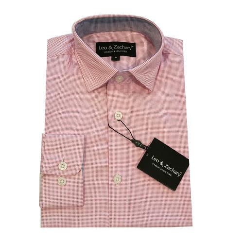 Leo & Zachary Mulberry Shirt