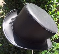 High Top Hat Steampunk Leather