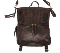 Autumn Olive Leather Bag