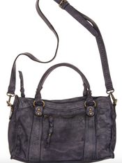 Autumn Black Leather Bag