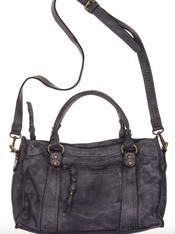 Autumn Black Leather Bag