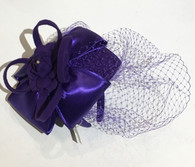 Irene Satin Bow Fascinator