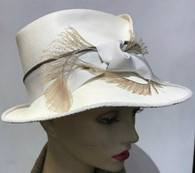 Lucy Hand Pleated Fedora (available to order)