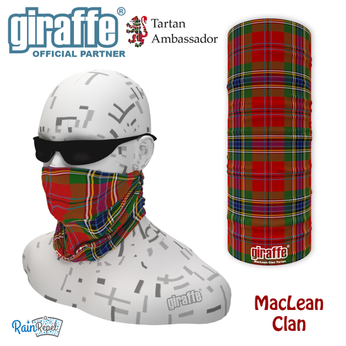 MacLean Clan Tartan Bandana
