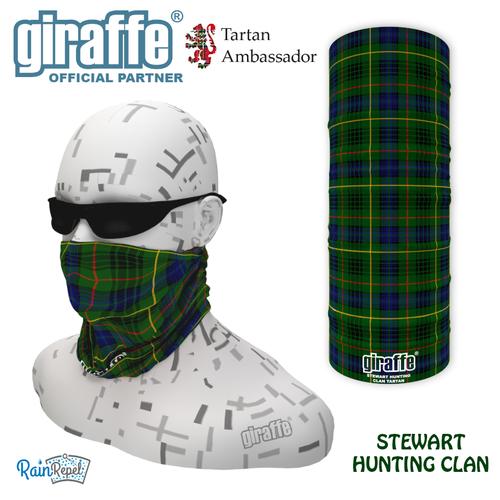 Stewart Hunting Clan Tartan Bandana