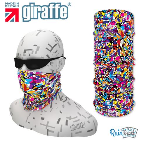 G346 Colour Shards Multi Colour Tube Bandana