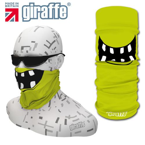 G450 Teeth Gaps Face Mask Green Tube  Bandana