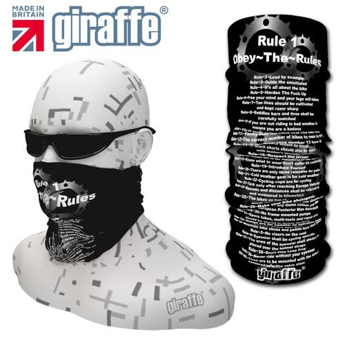 G462 Cycle Rules # rule 5 Black Tube  Bandana