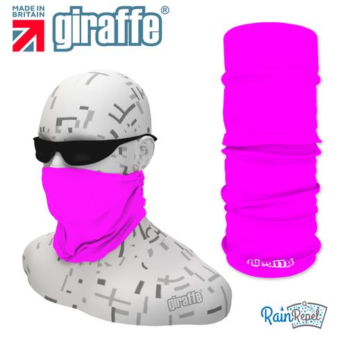 G269 Deep Shocking Pink Multi-functional Tube  Bandana