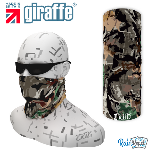 G540 Hunting Leaves Camouflage  Multi-functional Tube Bandana