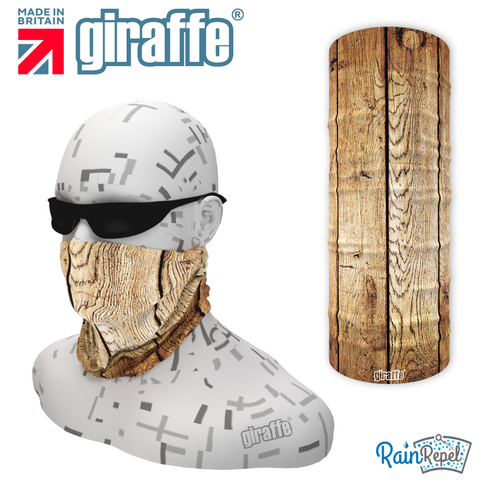G549 Wood texture plank  Multi-functional Tube Bandana