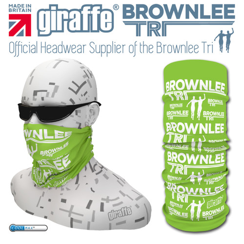 Brownlee Brothers Triathlon Green Multi-functional Tube Bandana