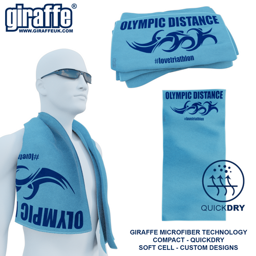 Olympic Distance Triathlon GT-004 Sports Microfibre Towel