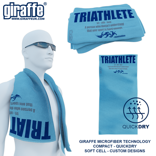 Definition of a Triathlete GT-007 Sports Microfibre Towel
