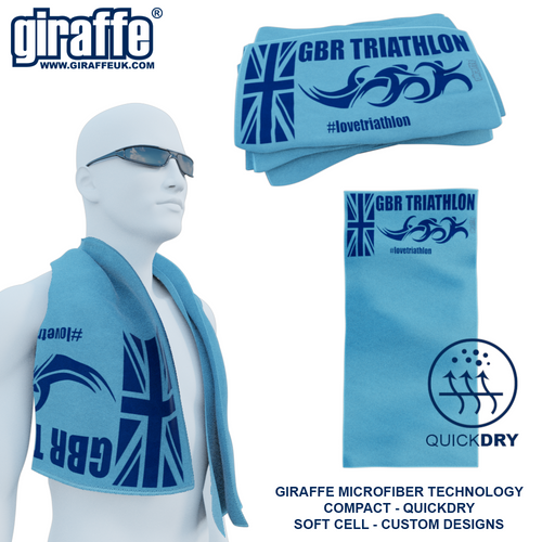 GBR Triathlon GT-009 Sports Microfibre Towel