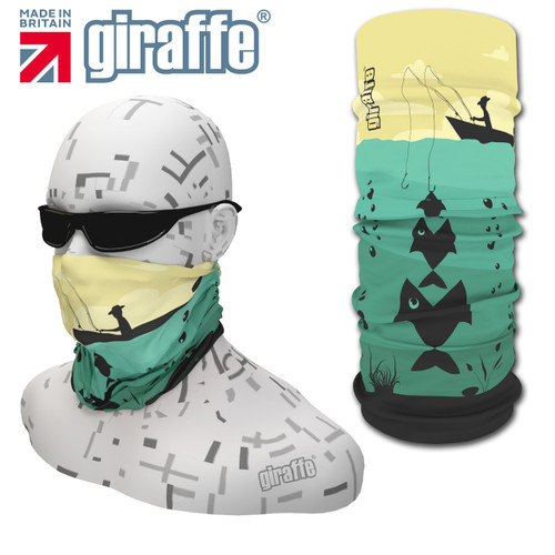 G411 Fishing Boat fisherman   Multi-functional Tube Bandana