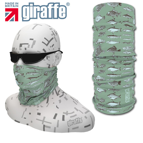 G414 Fish Variety fishing Multi-functional Tube Bandana
