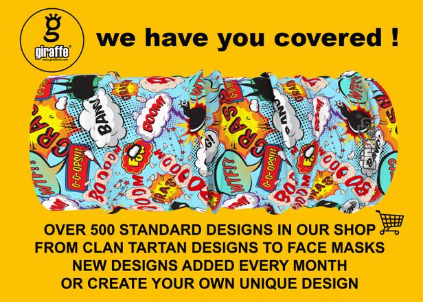 Hundreds of online designs