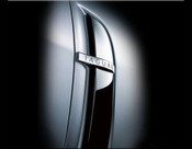 Jaguar XF & XFR Chrome Fender Louvers Finishers (07-2011 models)