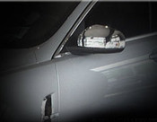 Jaguar XF & XFR Chrome Mirror Cover Finishers (07-2011 models)