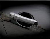 Jaguar XF & XFR Chrome Door Handle Overlay Finishers (07-2011 models)